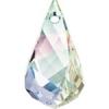 Swarovski Drop 6020 Helix 30mm Aurora Borealis Crystal